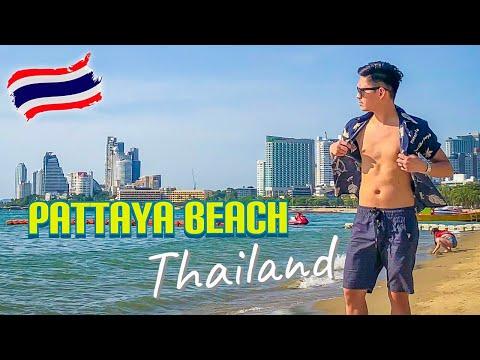 PINOY TUMAMBAY SA PATTAYA BEACH – THAILAND TRAVEL VLOG 2019 [Eng Sub] #jezzdoit