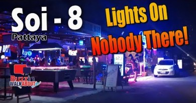 Soi 8 Pattaya at night time November 2020. The lights were on, but nobody used to be in! This has to end rapidly!