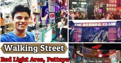 Pattaya Strolling Avenue | Strolling Avenue Pattaya Thailand by Hardikkumar-HRK