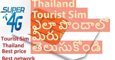 glean Vacationer 4G Sim in Thailand  || Thailand tour Packages