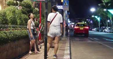 Thailand, Pattaya, Seashore Avenue, Strolling Avenue From 7 PM to 12 AM