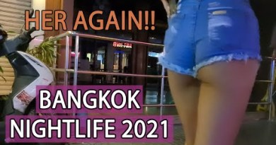 Bangkok Nightlife 2021 | Dancing lady is support but she is eating this time!