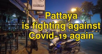 PATTAYA BEACH ROAD Closing day of the twelve months 2020, Pattaya is combating against Covid-19 again #pattaya