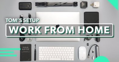Work From Home Setup That Matches In Your Receive   Tom's Tech Equipment For Working Remotely