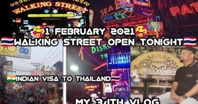 Honest Data 😃 Walking avenue open tonight 1Feb🇹🇭Pattaya City open membership,health membership,bar,mall Reopen 1 February