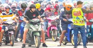 Racing a Condo Motorbike in Thailand