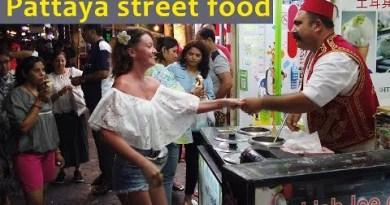 Complicated Turkish ice cream man in Pattaya – Thailand avenue meals