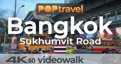 Strolling in BANGKOK / Thailand 🇹🇭- Sukhumvit Road – 4K 60fps (UHD)