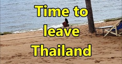 Time to leave Pattaya in Thailand