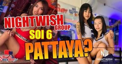 Soi 6 Pattaya. Exhaust a scrutinize on the Nightwish Crew in Soi 6 Pattaya. Ladies, Bars, managers (2021)