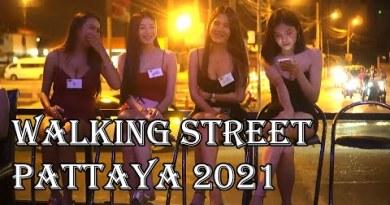 Thailand Pattaya Boulevard Scenes twenty seventh February 2021 – Beach Road, Strolling Boulevard!