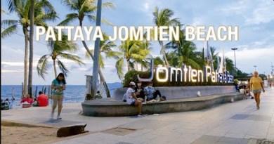 PATTAYA : Jomtien Seaside After the rain, March 2021 #jomtien #pattaya