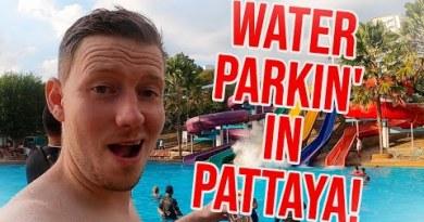 Water parkin' in Pattaya Thailand!