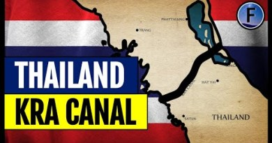 Thailand's Plans for a $28 Billion Canal All over Itself