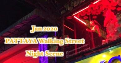 [PATTAYA] Strolling Toll road Night Scene Jan 2020