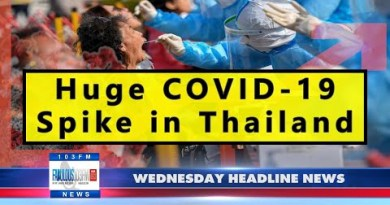 Most modern Thailand News, from Amazing 103 in Pattaya (24 March 2021)