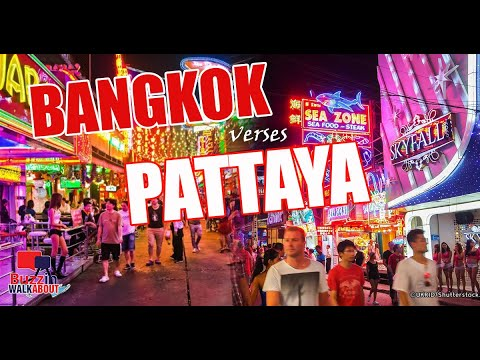 Bangkok v Pattaya Two reliable cities, both with so distinguished to supply. So what's the variation? 2021