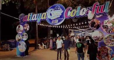 Pattaya beach colourful festival  march 2021 -Thailand | pattaya beach avenue night time