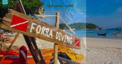 Overview Forra Diving Resort Pattaya Beach