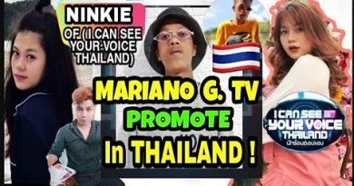 MARIANO G. TV | PASIKATIN SA THAILAND | WITH MS. NINKIE OF I CAN SEE YOUR VOICE THAILAND 2019