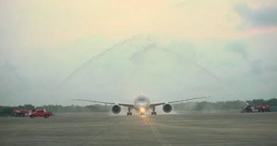 Qatar Airways Inaugural Flight to Pattaya, Thailand
