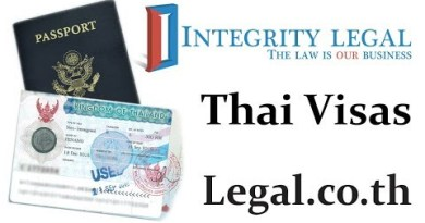 Long Care for Vacationers Issued Warning Stamps on Visas to Thailand