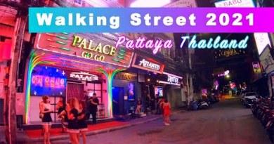 Walking Twin carriageway Pattaya Walking Tour 2021