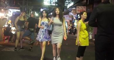Thailand Pattaya Strolling Boulevard Scenes