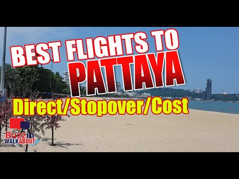 Most exciting Flights to Pattaya Metropolis. How lift out you salvage to Pattaya, what are the correct flights on hand? (2021)