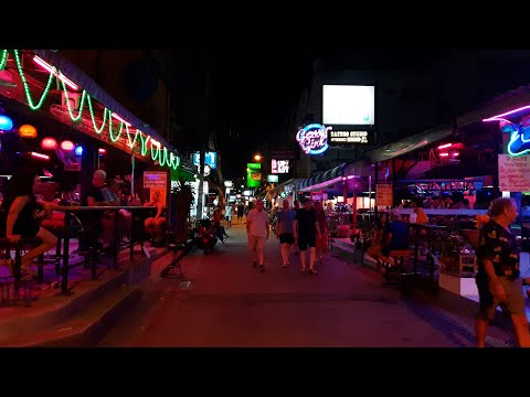 Soi 7, Pattaya, Thailand (2021) (4K) WALKING TOUR past all bars
