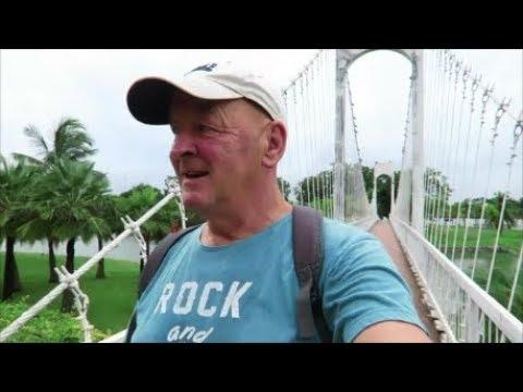 Udon Thani Thailand. Nong Prajak Public Park with Geoff Carter