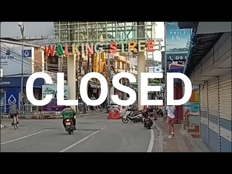 Pattaya Walking Avenue : Might maybe presumably honest 2021 : The Most Renowned Red Gentle District within the World Closed