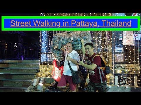 Boulevard Strolling in Pattaya, Thailand. #pattaya #thailand #walkingstreet