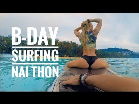 SUP SURFING NAI THON THAILAND – BDAY EDITION VLOG_0006