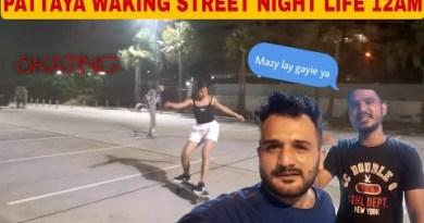 Pattaya strolling Road nightlife 12.00AM / Indian & Pakistani in Thailand