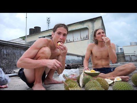 A Durian feast in Chanthaburi Thailand