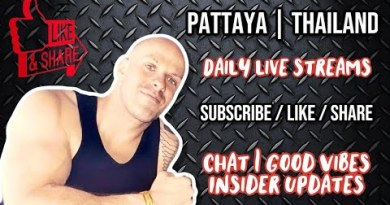 Pattaya Thailand LIVE |  Patty is right here! Shuffle to Koh Samet the following day!