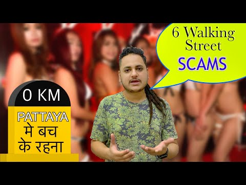 Top 6 NEW Pattaya Strolling Freeway SCAMS !! Thailand Scams in Pattaya with Tourists