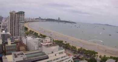 #LiveCamera 🌸 Are dwelling Digicam Sea slip Avenue Pattaya Thailand 🌸
