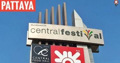[Shopping Mall Thailand] Central Festival Pattaya Seaside 🇹🇭