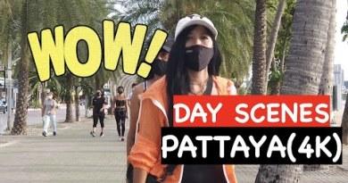 Pattaya Vlog: Day Scenes On Pattaya Seaside Road June 2021 In Thailand