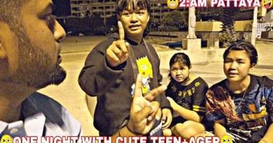😜 NIGHT 2:00AM WITH TEEN-AGER 😜 nightlife in pattaya _ coastline facet road ladies pattaya _ thailand bangkok