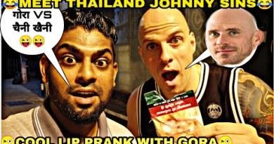 😜 COOL LIP PRANK WITH ENGLAND MAN 😜 India stir to Thailand _ Nightlife in Pattaya _ Pattaya City