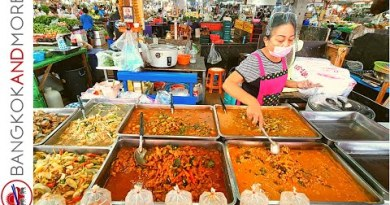 PATTAYA In The Morning | Boulevard Food And Market THAILAND