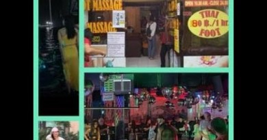 Pattaya Seaside Avenue, Pattaya 3 Dollars Rub down and Insomnia Club – Pattaya Day 2020 4K