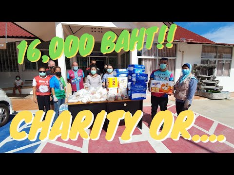 PATTAYA   16,000 BAHT  Is This Charity… or Caring?