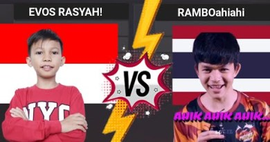 EVOS RASYAH VS EVOS RAMBO THAILAND AHIK AHIK AHIK – FREE FIRE
