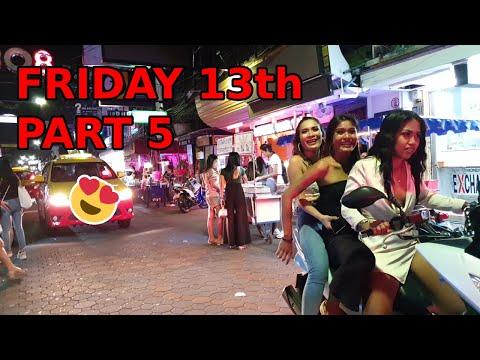 Friday Thirteenth Fragment 5… Strolling Avenue Pattaya, Start Night Gaze, November 2020, Thailand