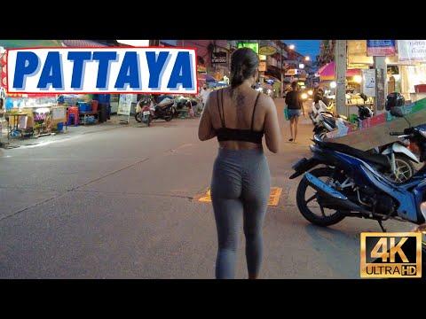 [4K] Pattaya Scuttle, LockDown, Seaside Avenue, Soi Diana, LK Metro, Soi Buakhao