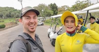 Pattaya Golf Direction Vlog ft. Cute Thai Caddys